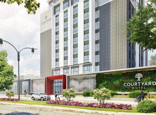Courtyard Hotel Waterfall City - facade